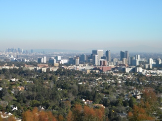 The Los Angeles skyline