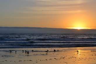 Sunset at Morro Bay