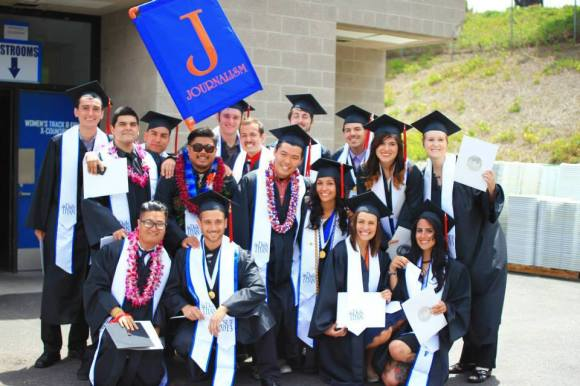 CSUF Communications graduates.