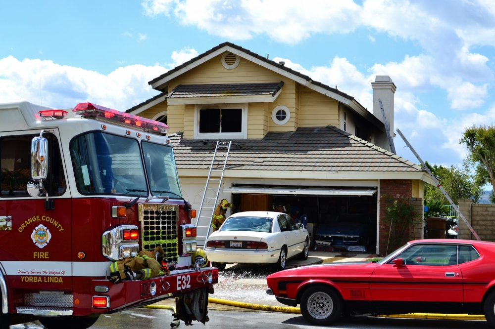 Yorba Linda House Fire