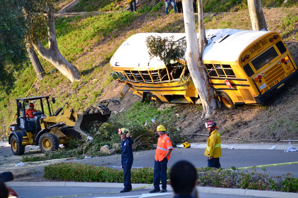 Anaheim Hills Bus Crash