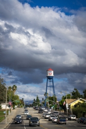 The Placentia Water Tower, October 2015.