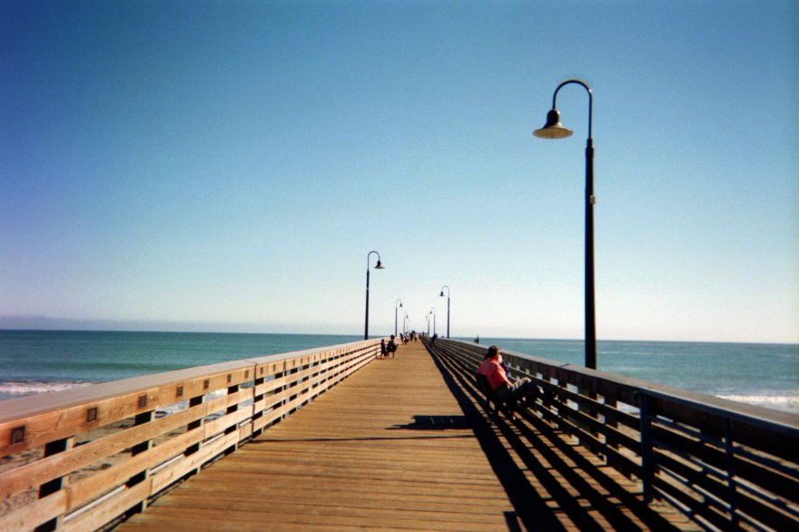 Cayucos | Fujifilm disposable camera, July 2016 by Tim Worden