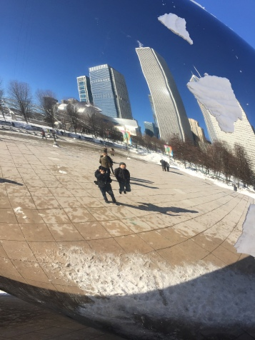 The Bean, Chicago, February 2018